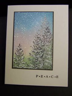 SU Lovely As A Tree. This is a beautiful card.