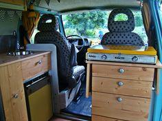 Kitchen wood vw T3 Vw Vanagon, Kitchen Wood, Diy Interior, Volkswagen, Vans, Home Appliances, Homemade, Home Decor, Van