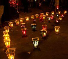 Lanterns on Paseo El Carmen,  Santa Tecla. El Salvador Photo: Ana Silva