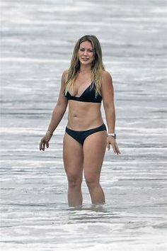 Hilary Duff Strong Ass Bikini Beach Pics