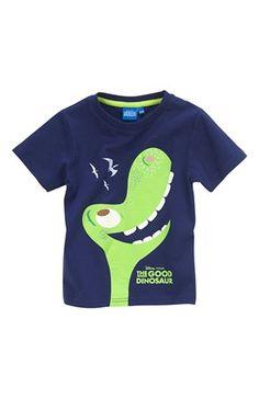 Super seje Disney The Good Dinosaur T-shirt Mørkeblå Disney The Good Dinosaur T-shirt til Børn & teenager til hverdag og fest
