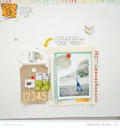 Up   Studio Calico Snippets, Here + There, Sundrif by Marcy Penner @2peasinabucket