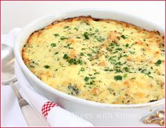 Trisha Yearwood's Chicken Broccoli Cheddar Casserole (made a few substitutions but very yummy and the kids devoured it)