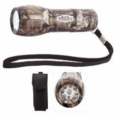 65324 - Camouflage Mini Aluminum LED Flashlight #camo #livebicgraphic