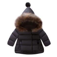 8ba04f8212bd Womail Baby Girls Boys Kids Down Jacket Coat Autumn Winter Warm Children  Clothes dec14 Baby Boys