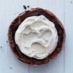 Fallen Chocolate Cake