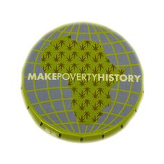Head-Case 'Make Poverty History' Pop Tin. Buy a Pop Tin because: Its size and shape make it a handy place to store your herbs, especially good for when you're on the move; The lid has been cleverly designed so you can open it one handed, with just a press it clicks open and with a squeeze of the sides it snaps shut securely; It looks cool and there are loads of wicked head-case designs to collect.