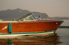 Love wooden boats.  An bygone era of class, quality and ease.