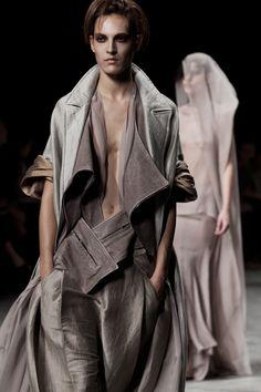 fashion is fantasy (Haider Ackermann Spring/Summer 2012)