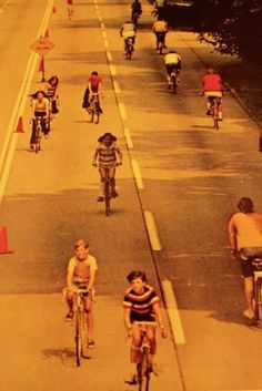 Girls and Bicycles: 1973 National Geographic