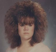 Earlier this week, we asked our listeners to show us their big hair for Bon Jovi - and boy did they! After receiving almost 200 submissions, we have a winner! 80s Big Hair, Full Hair, Bad Hair, Awkward Pictures, We Have A Winner, Bon Jovi, Perm, Hair Humor, Vintage Photographs
