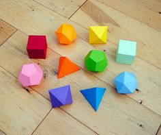 diy mathematics origami - 6 Awesome Crafts
