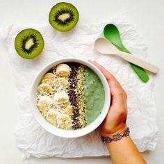 """Eat healthy, sleep well, breathe deeply, enjoy life."" ♡ #breakfast #health #food #fruit #raw #smoothie #yum #life #quote"