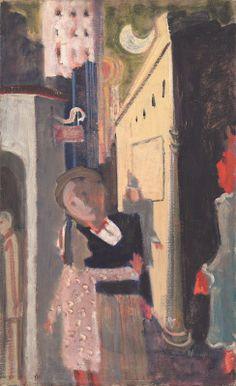 Rothko, Mark American, born Russia, 1903 - 1970 Street Scene 1936/1937 oil on canvas