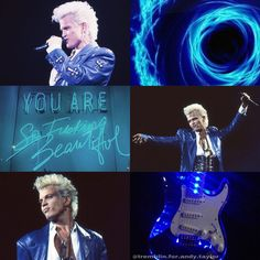 My edit.. mood board Billy Idol