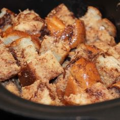 Slow Cooker Nutella French Toast with Caramelized Bananas Recipe - I Can Cook That |