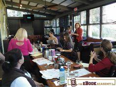 Listening to branding expert Liz Goodgold. www.TheEbookAcademy.com
