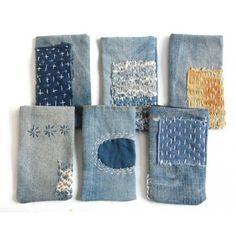 sashiko denim repair                                                                                                                                                                                 upcycle, recycle, mending, slow stitch, sew, sewing, hand stitching