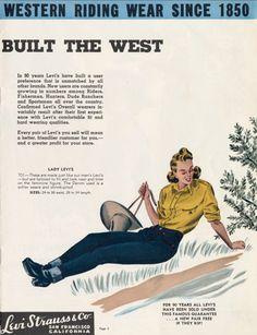 Levi Strauss & Co. Catalog, mid 1940's