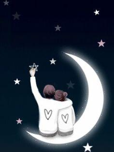 ✿♥Cute space of my magical world♥✿: korean kawaii girl cute gifs Love Cartoon Couple, Cute Couple Art, Cute Love Cartoons, Anime Love Couple, Couple Drawings, Love Drawings, Romantic Couples, Cute Couples, Couple Wallpaper