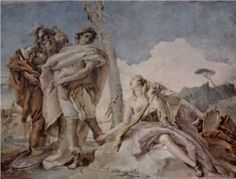 Rinaldo Abandoning Armida, 1745.