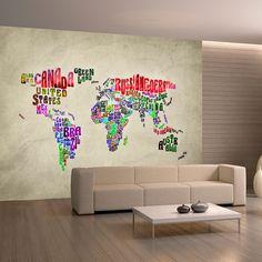 papier peint magn tique sticker papier peint magn tique carte ambiance carte. Black Bedroom Furniture Sets. Home Design Ideas