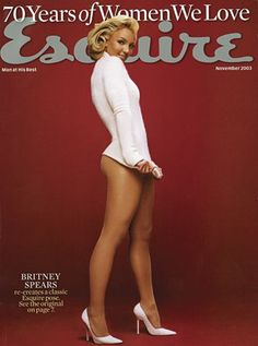 Angie Dickinson tells us how this happened. Britney Spears Photos, Baby Blue Sweater, Angie Dickinson, Britney Jean, Fashion Cover, Esquire, Actress Photos, Shorts, Sexy Legs