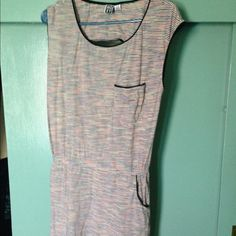 SOLD- Striped Roxy summer dress/tunic Super cute and comfy. Worn once. Love the pockets! Roxy Dresses
