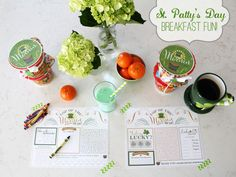 Fun breakfast for St. Patrick's Day!