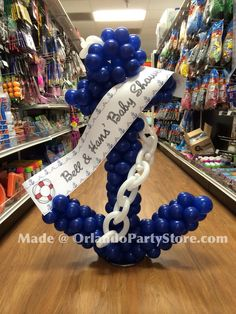 how to make a balloon anchor