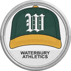 Waterbury Athletics - cap hat uniform sports logo - Eastern League - Minor League Baseball - MiLB - Created by John Majka