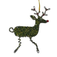 Wire reindeer :) Made by the crafters of Woza Moya www.hillcrestaids.org.za