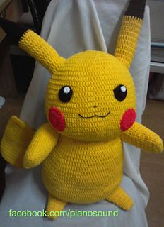 Large Pikachu pattern $7.95