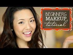 TUTORIAL: Makeup For Beginners (drugstore) - YouTube