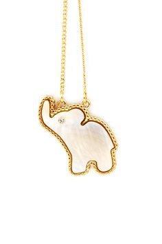 Mother of Pearl Ellie Necklace