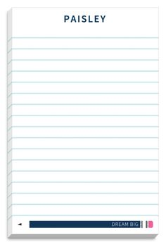 Perfect Pencil Notepads