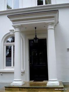 klassisch, eleganter    Säulen- Hauseingagang  #saeulen