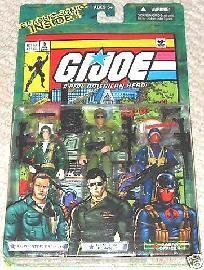 2004 GI Joe Comic 3-Pack Steeler Flagg Cobra Officer MOC Hasbro ARAH Valor vs Venom
