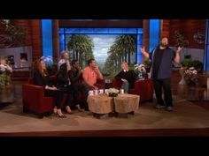 'Grown Ups 2' Stars Impersonate Each Other On Ellen. Check out Pete  Brigette's review of Grown Ups 2 here: http://chaptersandscenes.wordpress.com/2014/03/25/pete-and-brigette-review-grown-ups-2/
