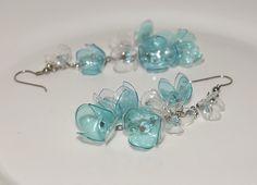Ranní rosa - náušnice z PET lahví Stud Earrings, Jewelry, Fashion, Bottles, Plastic Jewelry, Moda, Jewels, Fashion Styles, Studs