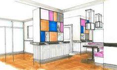 #Colors #Square #Draw #Kitchen