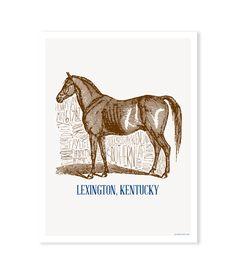 Lexington, Kentucky Print