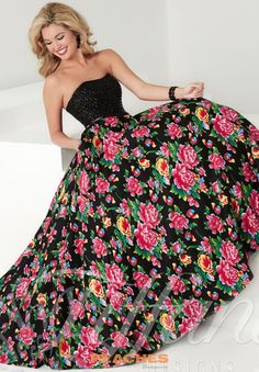 Stunning Two Piece Tiffany Prom Dress Style 61152