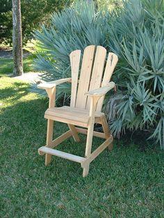 Adirondack Chair - Extra Tall Design