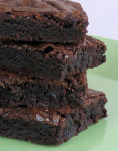Delicious!! Can't wait to surprise people with these :)) Vegan Black Bean Brownies