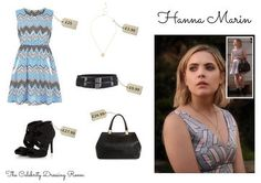Wear Hanna's complete outfit from episode 3, season 6 of Pretty Little Liars for £92. All you need to do is to click on GET THE LOOK !