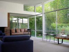 Rudolph Schindler Like how he brings the outside in.