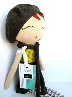 Paño personalizado Mermaid Doll por Mend por MendbyRubyGrace