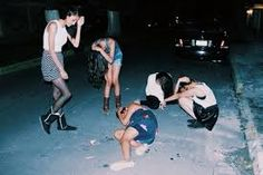 Image result for sad party tumblr