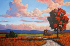 Red Trees and Feilds - Patty Baker